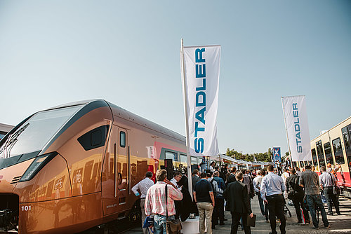SOB-Traverso an der InnoTrans 2018 in Berlin